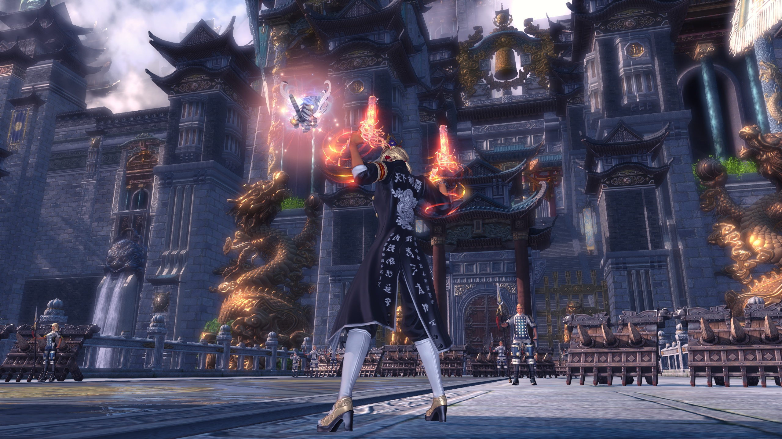 Blade & Soul brings single-player and group challenges to