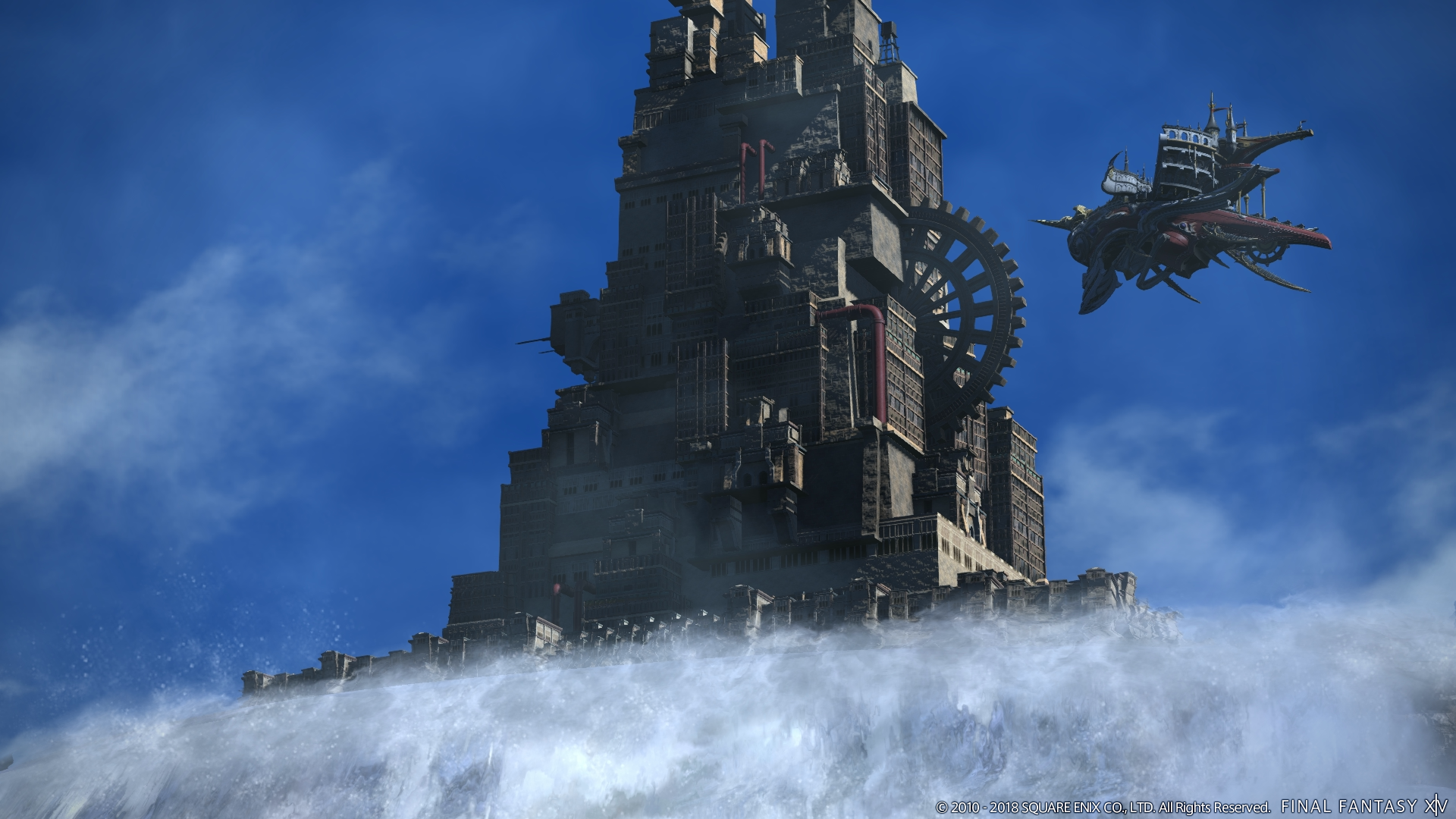 Final Fantasy XIV previews the Ridorana Lighthouse of patch 4 3