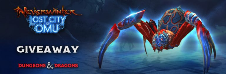 Enter to win a Neverwinter painted spider mount on Xbox One and PS4 from PWE and MOP!