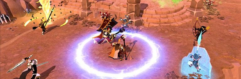 Albion Online is adding respecs and a GvG training system next month