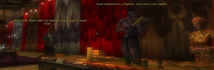 Dungeons and Dragons Online meets the Disciples of Rage
