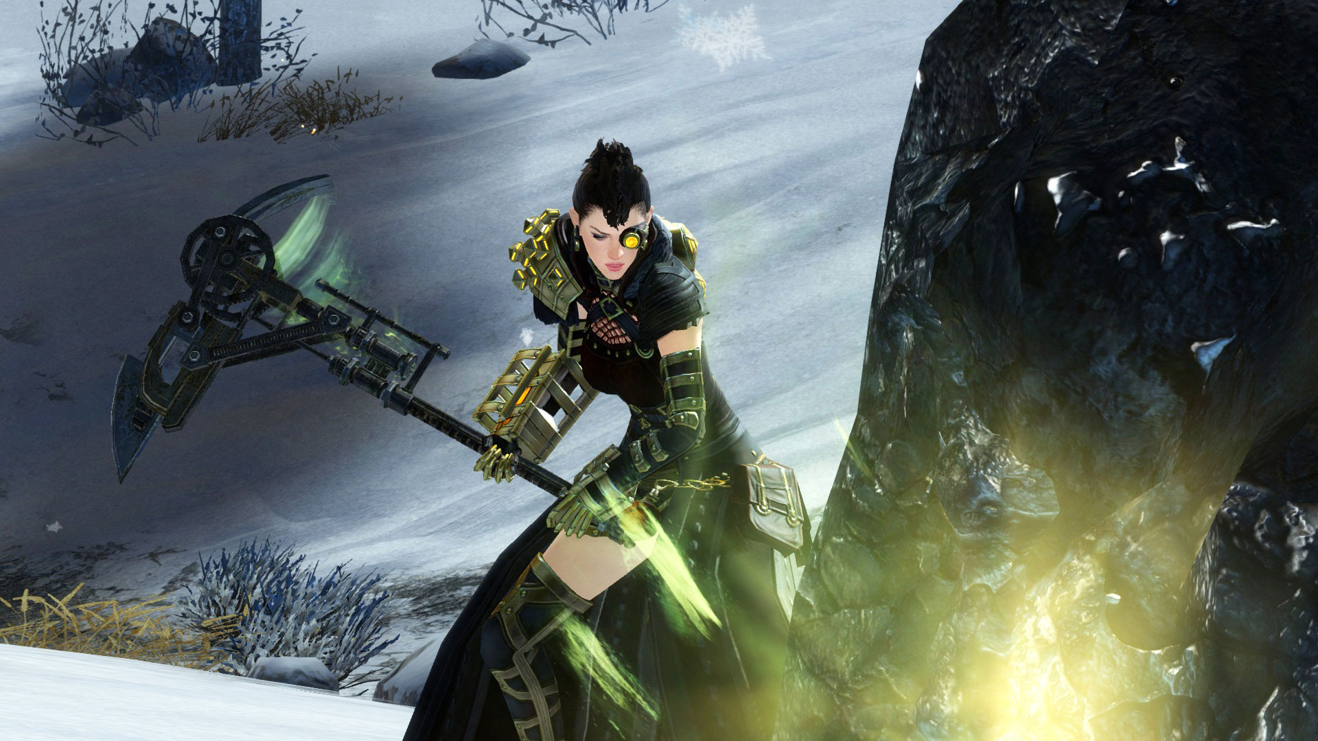 Guild Wars 2 has completely overhauled gathering tools with glyph