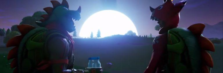 Comet crashes into Fortnite and launches season four