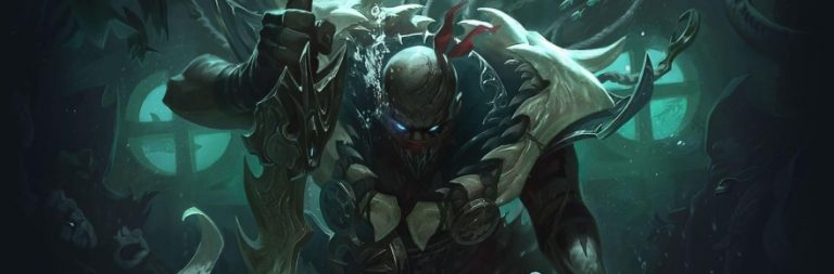 Yes, Pyke, you're the newest League of Legends champion