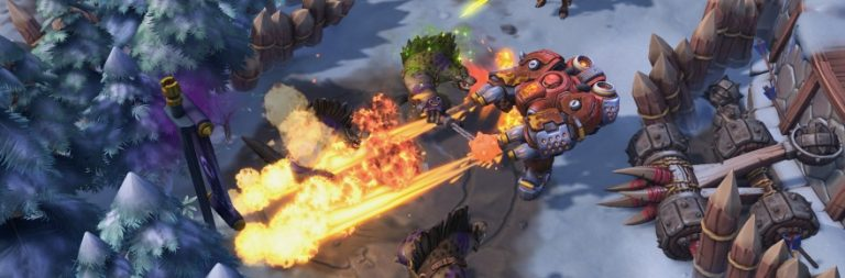 There are multiple heroes planned for Heroes of the Storm this year, and there's snow falling now
