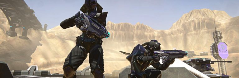 PlanetSide 2's Construction Reconstructed patch is live on PC