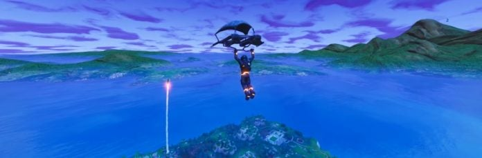 Fortnite S Rocket Launch Led To Players Being Nice To Each Other