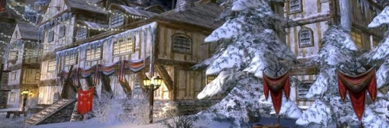 LOTRO's new Christmas quest is now live