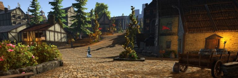 Shroud of the Avatar works on global visual improvements, throws Shooter Jennings album release party
