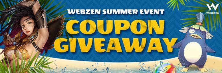Grab a MU Online, MU Legend, C9, Flyff, or Rappelz in Webzen's summer giveaway