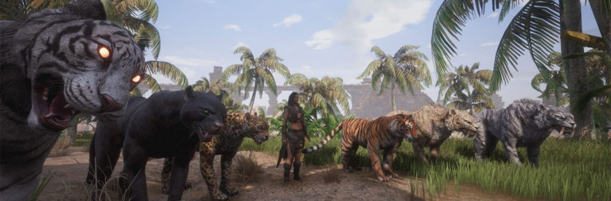 In Conan Exiles' upcoming pet patch, thralls 'don't poop, somehow