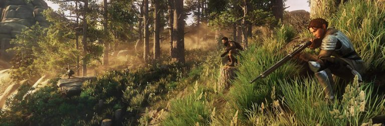 New World preview from Gamescom slips into the wild as Amazon announces alpha signups