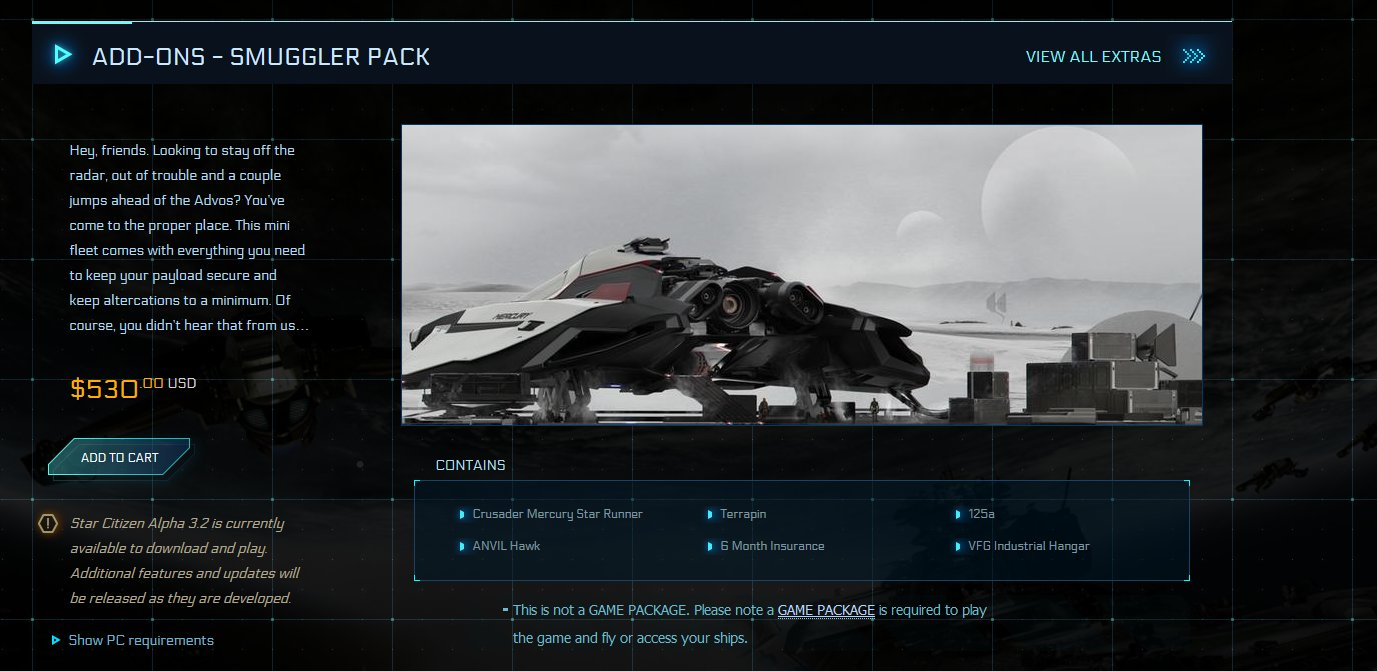 Star Citizen rolls out the Mercury Star Runner concept ship during
