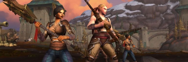 World of Warcraft on stumbling into a woman-dominated cast for Battle for Azeroth