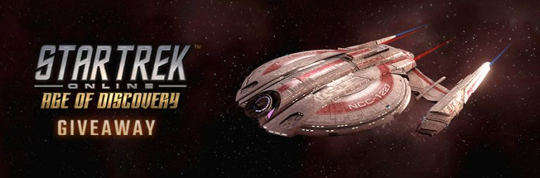 Enter to win a Star Trek Online Age of Discovery Starter Pack on PC from PWE and MOP
