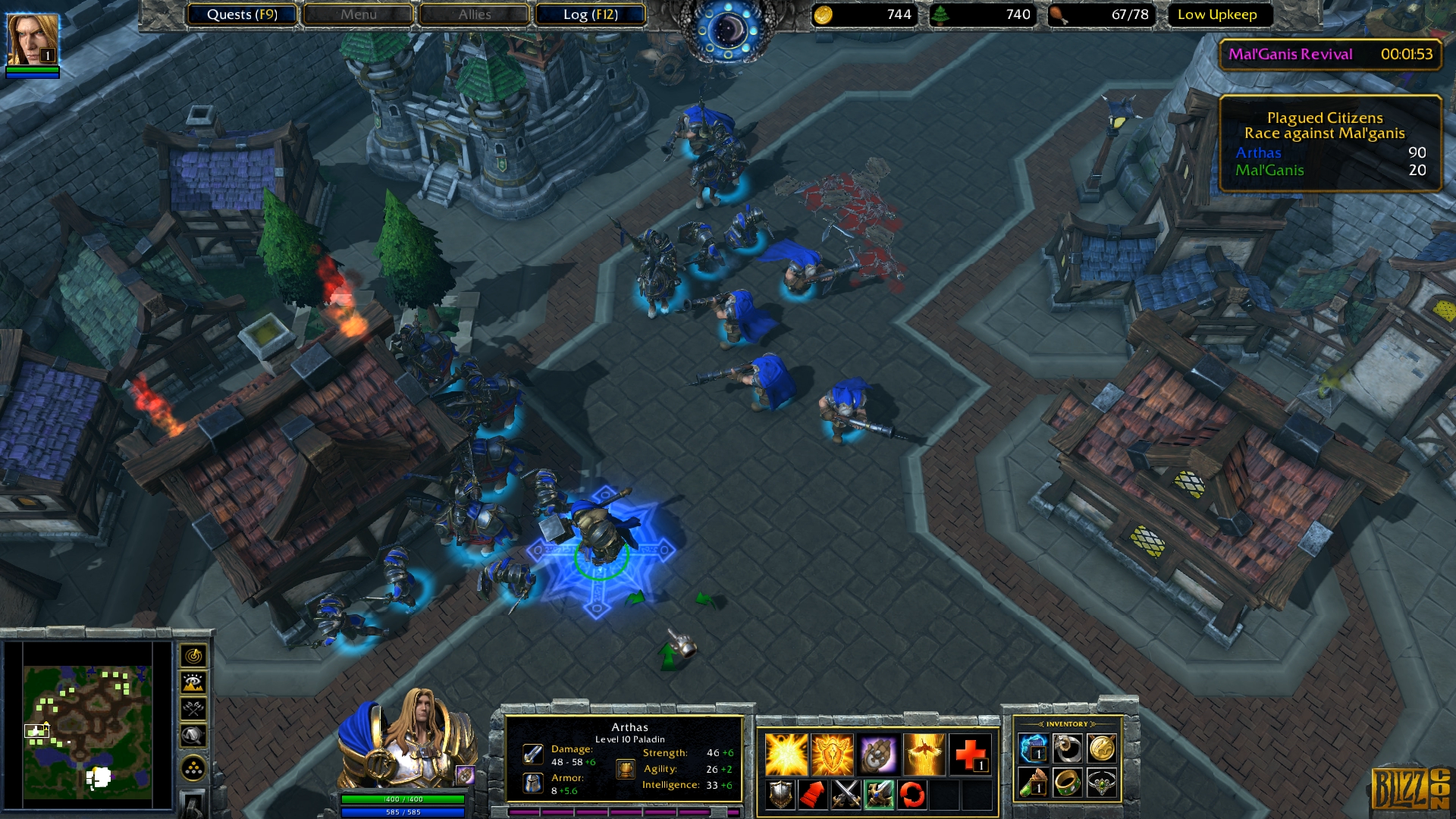 BlizzCon 2018: Warcraft III: Reforged is a remaster and