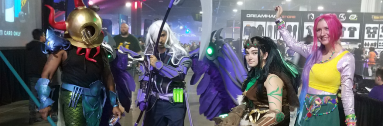 Experience Hi-Rez Expo Fall 2018 through pictures