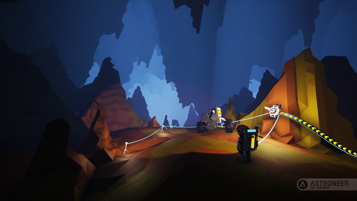Sci-fi survival sandbox Astroneer has officially launched out of