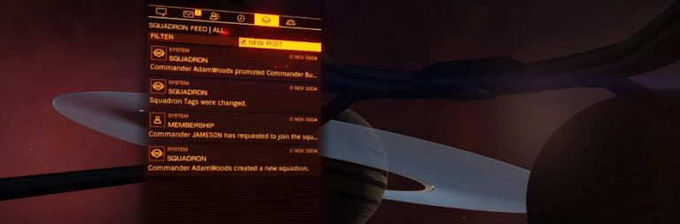 Elite Dangerous is getting a fleshed-out MMO guild system in Beyond Chapter Four