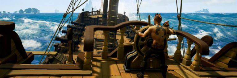 Sea of Thieves previews the PvP arena, the Sea Dogs trading company, and pets