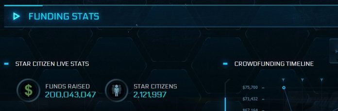 Make My MMO: Star Citizen hits $200M in crowdfunds, Reddit