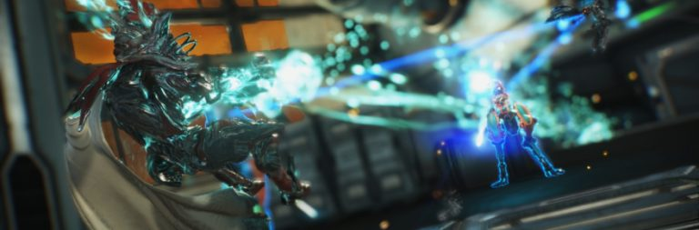 Warframe leaps into action on the Nintendo Switch today