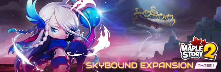 Enter to win a MapleStory 2 Founder Pack Explorer code in honor of the Skybound expansion launch