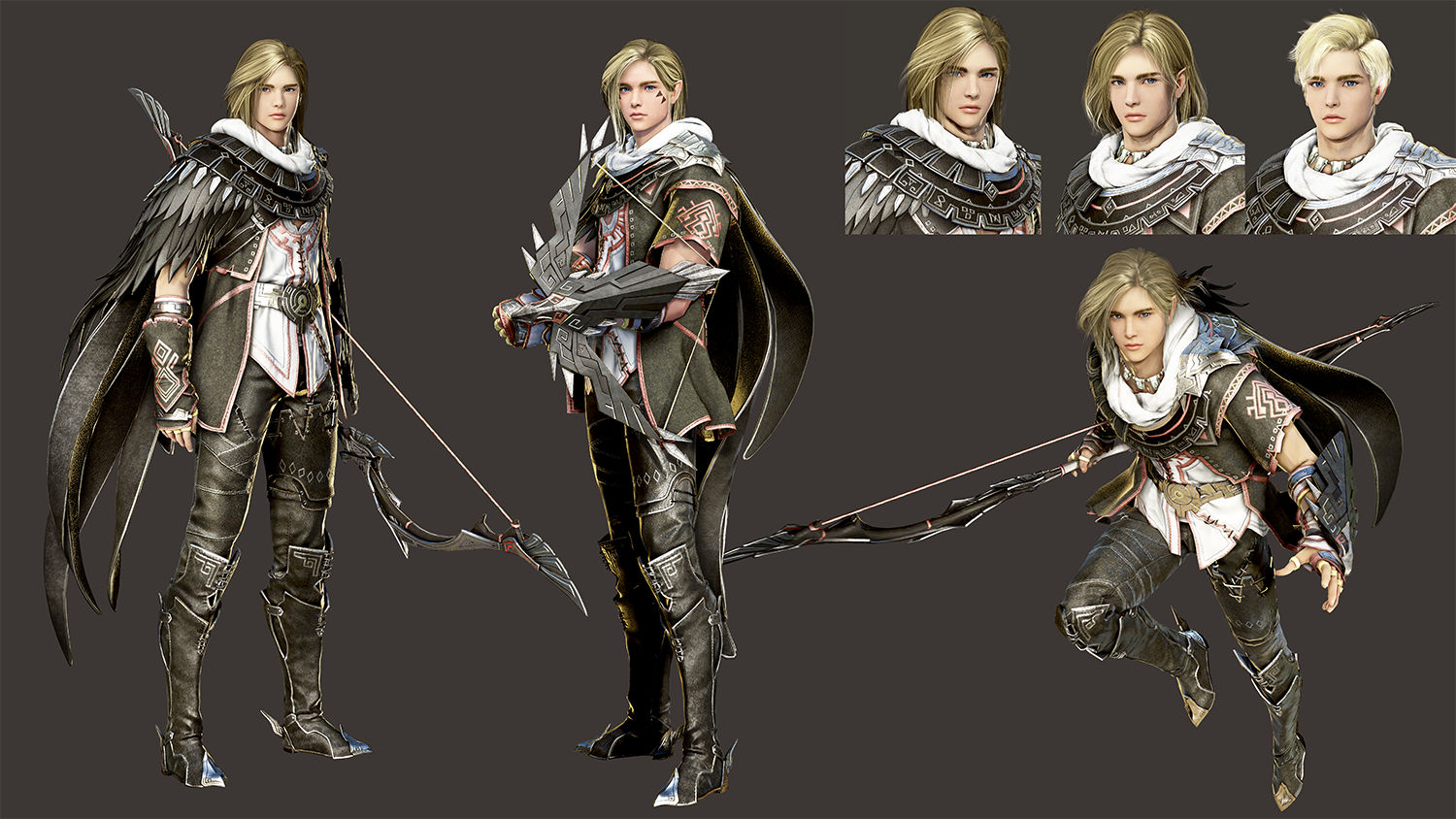 Black Desert outlines plans for the Archer, battle royale