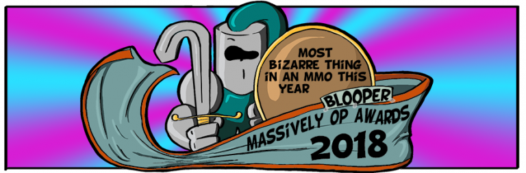 Massively OP's 2018 Blooper Awards: Most bizarre thing in an MMO this year