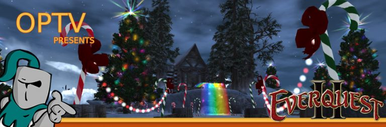 Eq2 Christmas 2020 The Stream Team: EverQuest II's Frostfell is the first holiday of