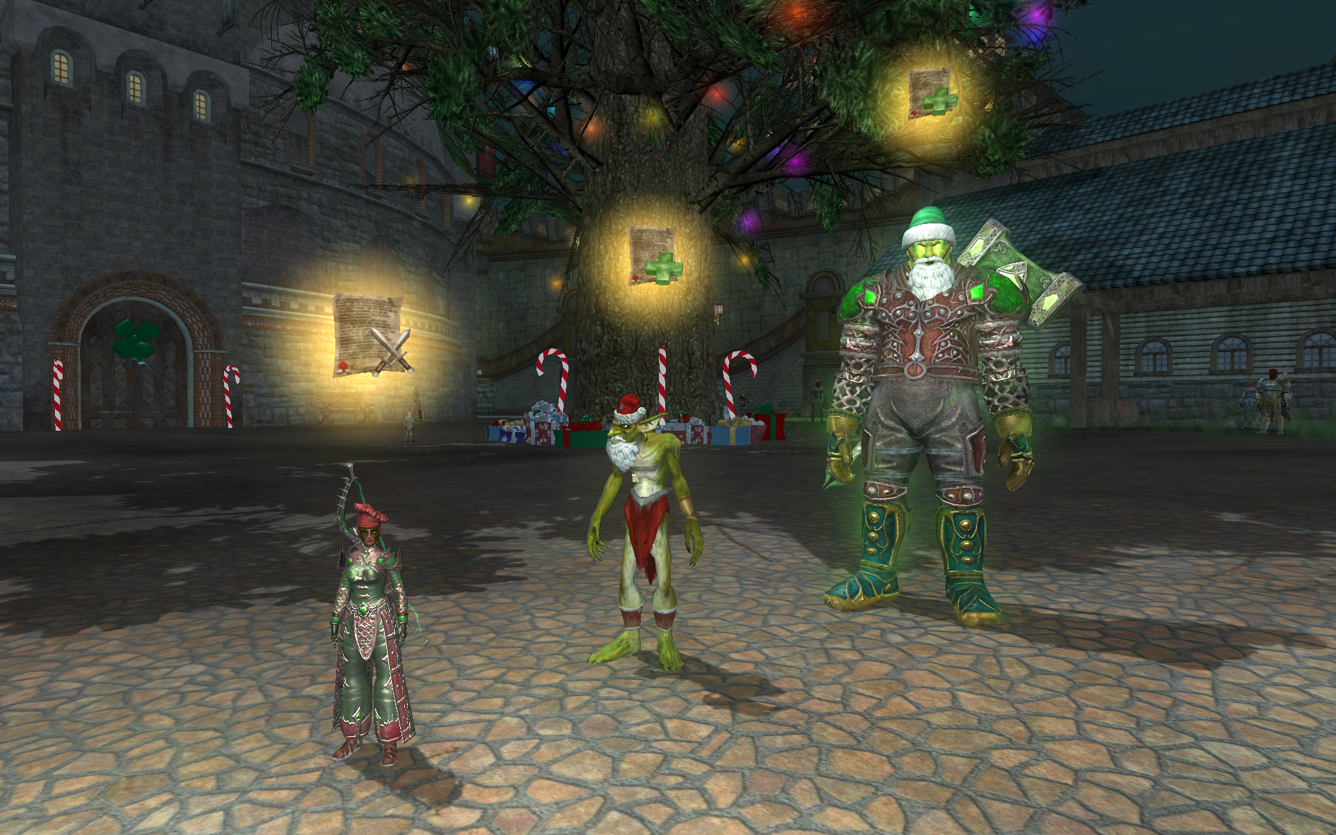 Winter festivities descend on both classic EverQuest and EverQuest