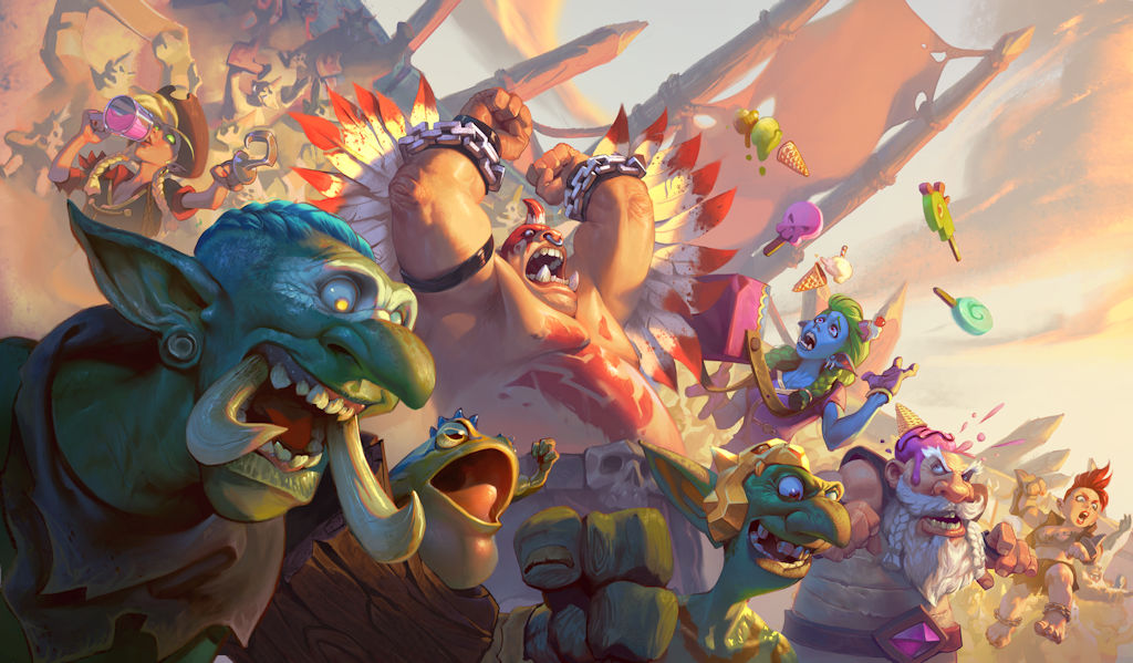 Fight for the glory of the Loa in Hearthstone's newly ...
