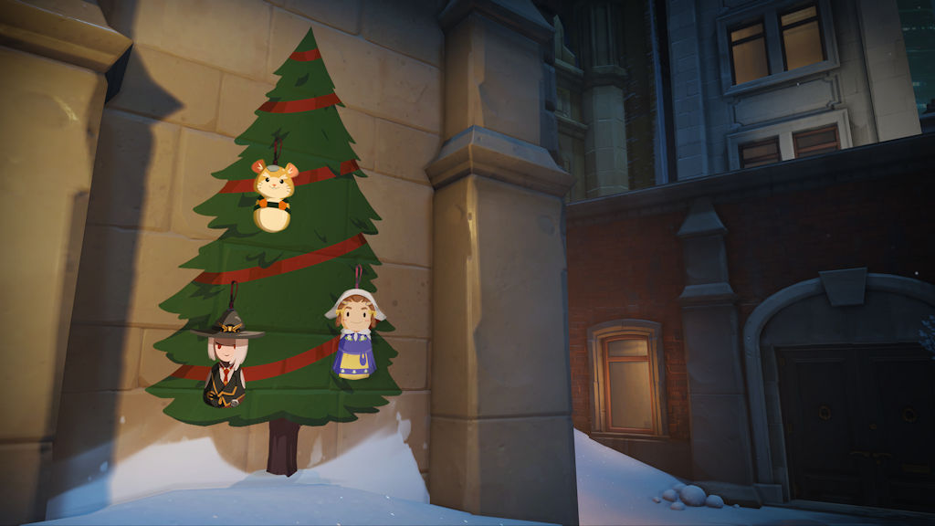 Overwatch's Winter Wonderland is out, but Blizzard World is
