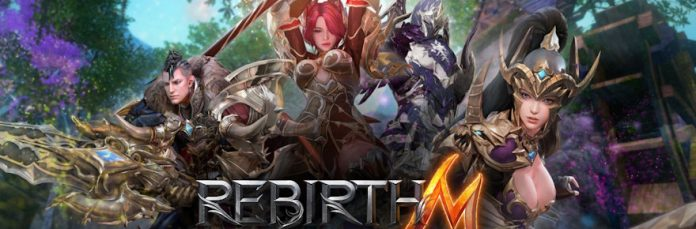 Mobile MMORPG Rebirth M launches in North America after