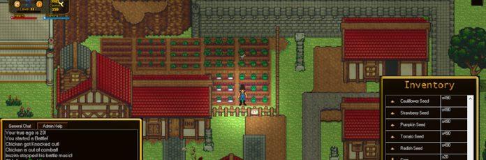 Azusa RP Online is the Stardew Valley retro sandbox MMORPG you