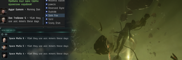 EVE Online cheater accidentally exposes himself in a hilarious way