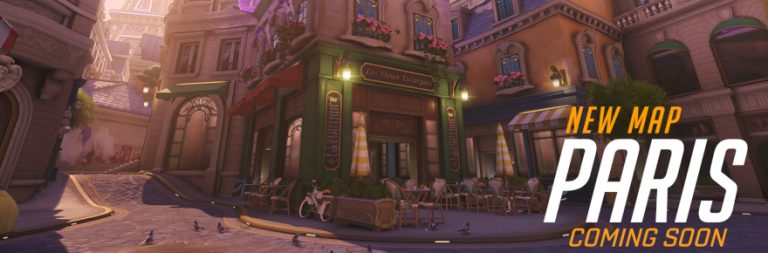 Overwatch's new Paris map is live on the PTR