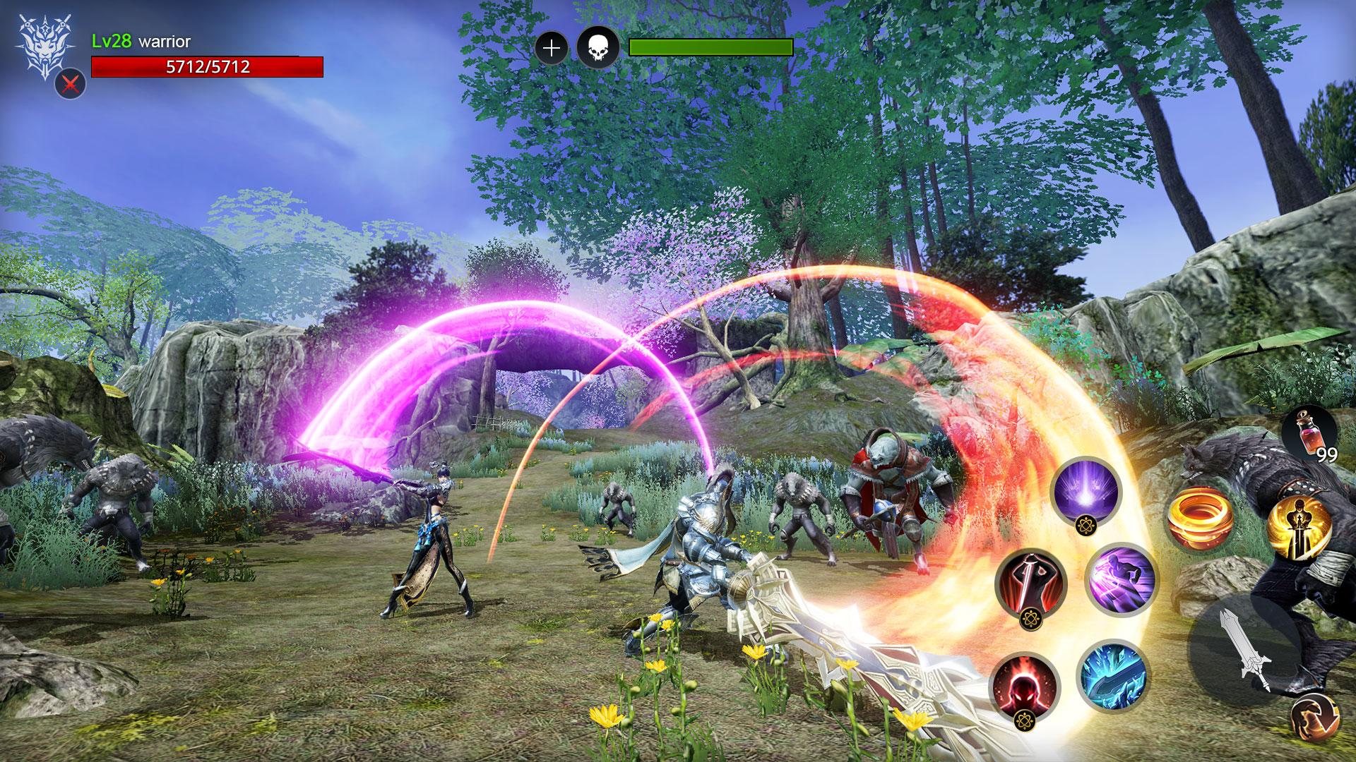 Introducing AxE: Alliance vs Empire, Nexon's next mobile MMO