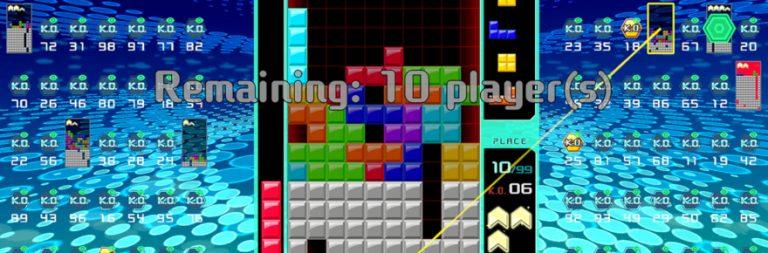 Nintendo unveils Tetris 99, wraps up the battle royale genre