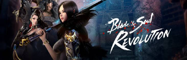 Netmarble reveals an English logo for Blade & Soul Revolution
