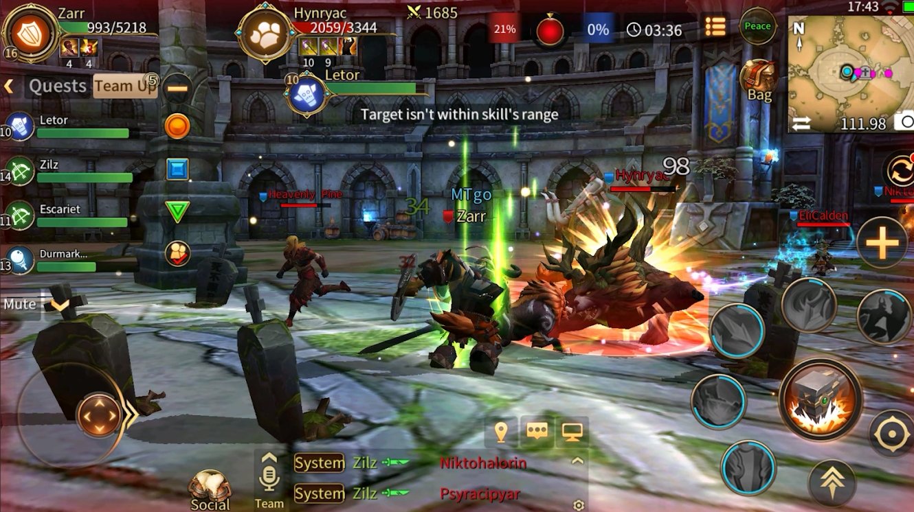 Era of Legends is a new mobile MMO for Android devices that