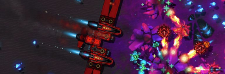 Indie space-mining MMO Exocraft has launched today