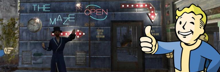 Sadistic player-designed maze traps Fallout 76 gamers