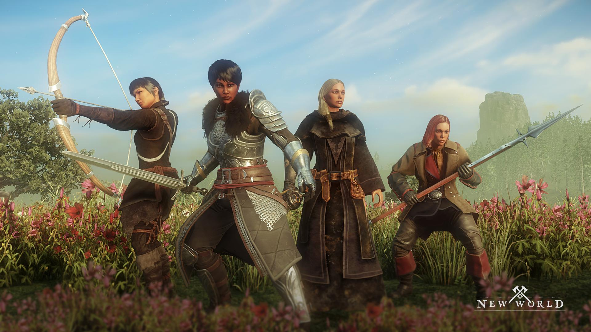 Amazon's New World MMO dispatches more alpha invites, teases locales