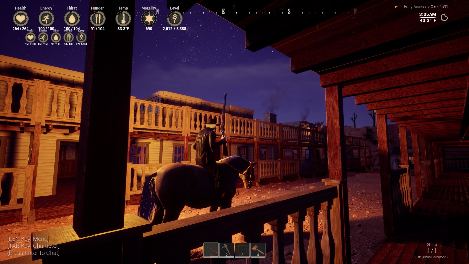 Snail Games' Outlaws of the Old West rustle up a Steam early access