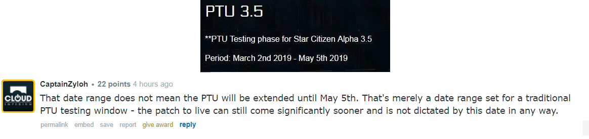 star citizen copy ptu files