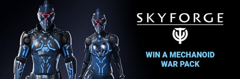 Enter to win a Skyforge New Horizons PC Mechanoid War Pack from My.com and MOP! [NA only]