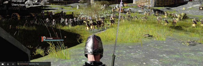 Camelot Unchained was worried the 'Siege of Cherry Keep' stress test would melt your computer