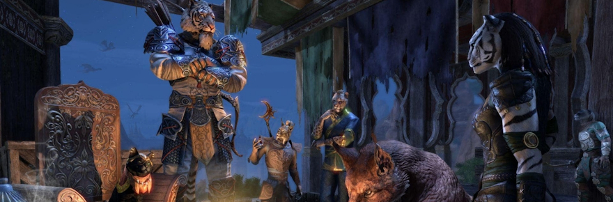 Elder Scrolls Online's Elsweyr campaign is officially