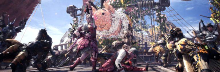 Monster Hunter: World's Spring Blossom Festival is in full bloom today